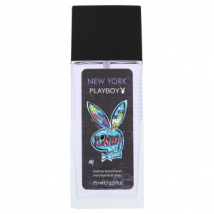 PLAYBOY NEW YORK DEODORANT NATURAL SPREJ 75 ML