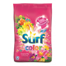 SURF TROPICAL LILY & YLANG YLANG PRACÍ PRÁŠOK COLOR 4,2KG / 60PD