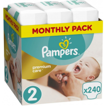 PAMPERS PREMIUM CARE 2 MINI 3-6 KG 240 KS