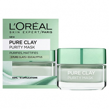 LOREAL EXFOLIAČNÁ PURE CLAY MASKA PURIF 50 ML