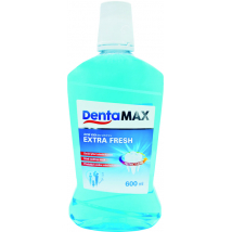 DENTAMAX ÚSTNA VODA EXTRA FRESH 600 ML