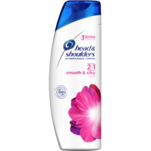 HEAD SHOULDERS ŠAMPÓN 400ML SMOOTH A SILKY 2V1
