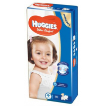 HUGGIES ULTRA COMFORT 4+ 10-16 KG 50 KS
