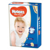 HUGGIES ULTRA COMFORT 3 5-8KG 58 KS