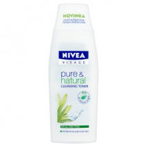 NIVEA PLEŤOVÁ VODA PURE & NATURAL 200 ML