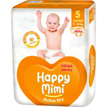 HAPPY MIMI ACTIVE DRY JUNIOR 40 KS 11-25 KG