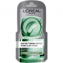 LOREAL PURE CLAY MASKA DETOX 6 ML