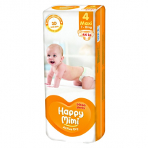 HAPPY MIMI ACTIVE DRY MAXI 7-18KG 44 KS