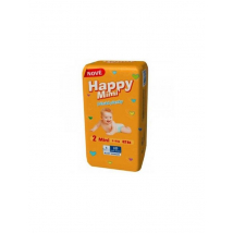 HAPPY MIMI ACTIVE DRY MINI 3-6 KG 56 KS