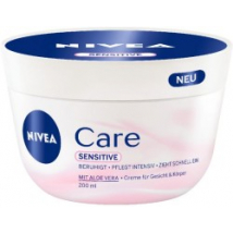 NIVEA KRÉM CARE SENSITIVE 200 ML