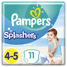 PAMPERS SPLASHERS PLIENKY DO VODY 9-15 KG 11 KS
