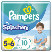 PAMPERS SPLASHERS PLIENY DO VODY 14+KG  10KS