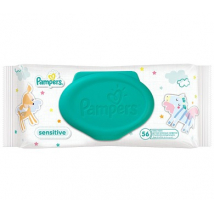 PAMPERS WIPES BOX  56 KS
