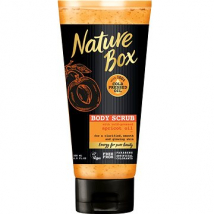 NATURE BOX TELOVÝ PEELING APRICOT 200 ML