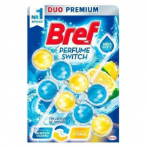 BREF WC POWER AKTIV PARFUME SWITCH MARINE A CITRUS 2KS