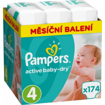 PAMPERS GIANT PACK MAXI 4 174 KS
