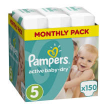 PAMPERS GIANT PACK JUNIOR 5 150 KS
