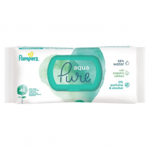 PAMPERS WIPES AQUA PURE S CLIPOM 48 KS