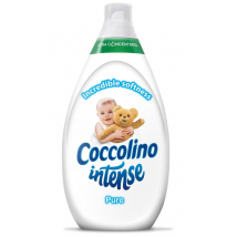 COCCOLINO INTENSE PURE BIELA 960ML 64 PD