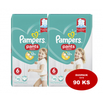 PAMPERS PANTS NOHAVIČKY GIANT PACK 6 90 KS