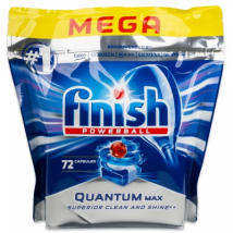 FINISH TABLETY DO UMÝVAČKY QUANTUM MAX LEMON 72 KS
