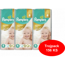 PAMPERS PREMIUM CARE 4 156 KS