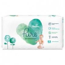 PAMPERS PURE PROTECTION VEĽ. 2 (4-8 KG) 39 KS