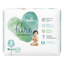 PAMPERS PURE PROTECTION VEĽ. 3 (6-10 KG) 31 KS