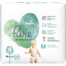 PAMPERS PURE PROTECTION VEĽ. 4 (9-14 KG) 28 KS