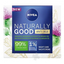NIVEA NATURALLY GOOD ANTI-AGE NOČNÝ 50 ML