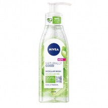NIVEA NATURALLY GOOD ČISTIACI MICELÁRNY GÉL 140 ML