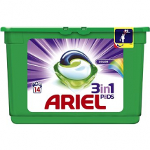 ARIEL TABLETY 3XACTIVE GÉL COLOR 14 PD