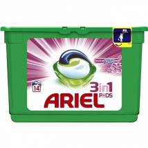 ARIEL TABLETY 3XACTIVE GÉL TOUCH OF LENOR 14 PD