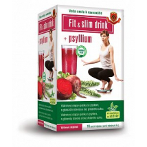 HERBEX FIT & SLIM DRINK+ PSYLIUM 16 x6G