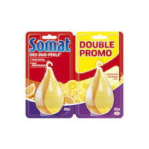 SOMAT DEODORANT PERLS LEMON DUO 34 G