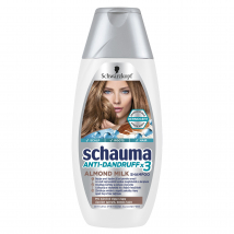 SCHAUMA ŠAMPÓN ANTI DANDR X3 ALMOND MILK 400 ML