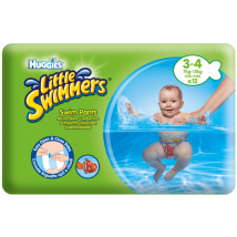 HUGGIES LITTLE SWIMMERS 3/4 7-15KG, 12 KS