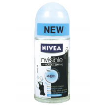 NIVEA ROLL ON BLACK AND WHITE PURE 50 ML