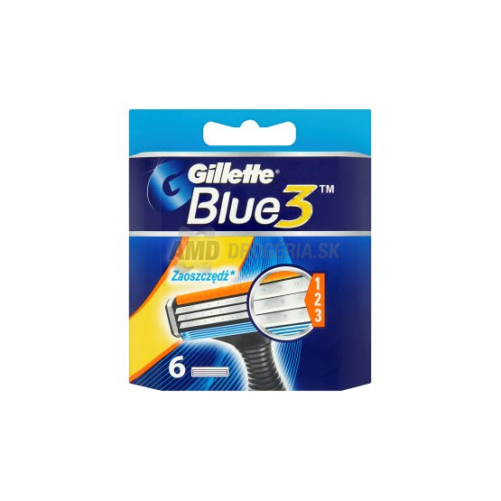 GILLETTE BLUE3 NH 6KS