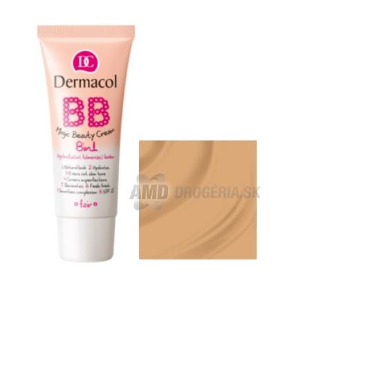 Dermacol BB Magic Beauty Cream SPF15 BB krém nőknek 30 ml