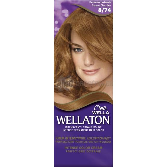 Wellaton Farba 8 74 Karamelova Cokolada